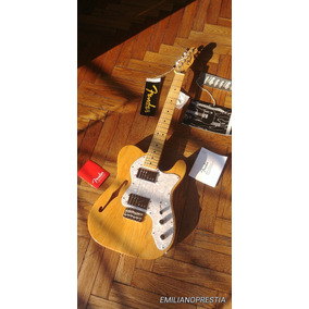 Increible Guitarra Telecaster Fender Thinline 72 Classic