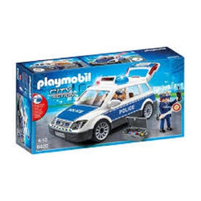Playmobil - Viatura Policial Com Guardas 6920