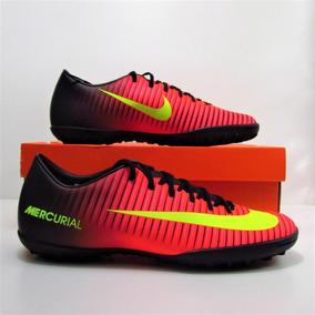 Chuteira Nike Mercurial Victory Iv Campo Amarela E Laranja ... 7d58d5c173d7e
