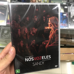 Sandy - Nos Voz Eles Dvd Lacrado Pronta Entrega Original