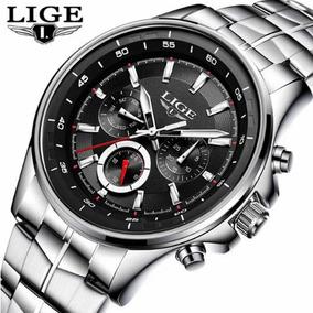 Relógio Lige Masculino 9814 Aprova Dàgua, Original