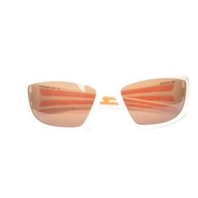Óculos Quadrado Extenso Proteção Lateral Unissex Marrom D55 69ebcea592
