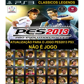 Patch Super Clássicos Legends Pes2013 Ps3