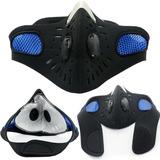Máscara Anticontaminación Zul Del Esquí Motocicleta Deporte