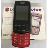 Lg Gu230 - Câmera 1.3 Mp, Mp3 Player, Radio Fm - Usado