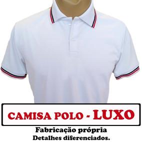 Camisa Polo Personalizada Bordada - Pólos Manga Curta Masculinas no ... 223a66ac72a