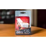 128 Gb Micro Sd Sdxc Samsung Evo Plus 4k U3 Clase 10