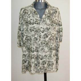 Puritan Camisa Hawaiiana Talla 2 Xl Estampado Floral