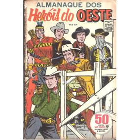 Almanaque Dos Heróis Do Oeste - Anos 1960 - Rge