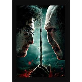 Quadro Harry Potter Vs Voldemort