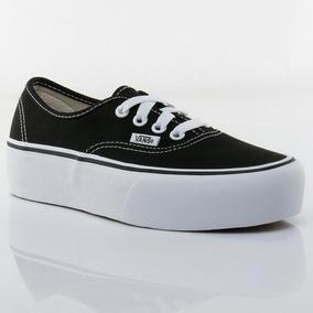 Van Negra Plataforma - Zapatillas Vans de Mujer en Mercado Libre ... 89c2cb8eefa