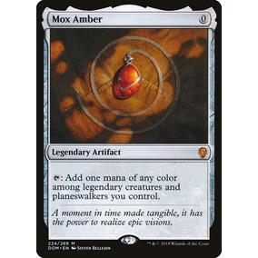 Mox De Ambar - Mox Amber Mítica - Magic The Gathering