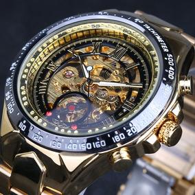 62f6c9a0ecf Relogio Winner Dourado - Relógios no Mercado Livre Brasil
