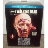 The Walking Dead Gift Set Limitado Da 2ª Temporada - Bluray