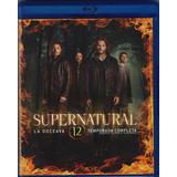 Supernatural Doceava Temporada 12 Doce Blu-ray