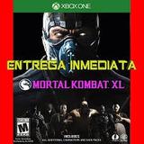 Vendo Codigo Xbox One Para Decarga De Mortal Kombat Xl