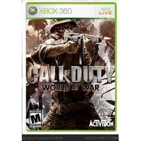Call Of Duty World At War Mídia Física Usado