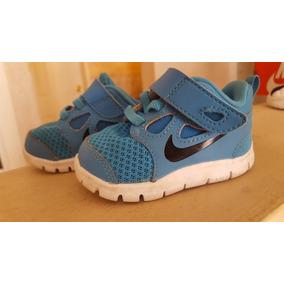 Tenis Bebe Niño Nike Original Poco Uso Talla 3c 9cm Azul 0b99cec16e7ac