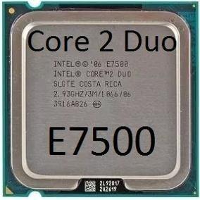 Intel Core 2 Duo E7500 2.93ghz Lga775 + Cooler Original