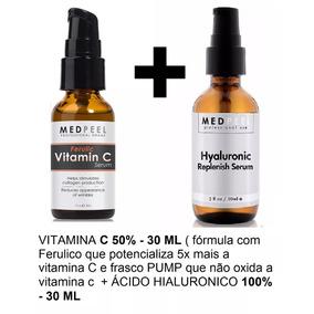 Hialurônico 100% Puro+ Vitamina C50%e Ferúlico - Promoção