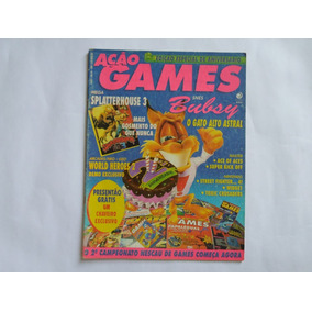 Revista Ação Games N° 35 Editora Azul