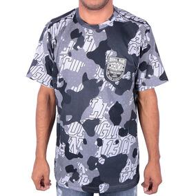 Camiseta Chronic Camu Black Original Street Camuflada