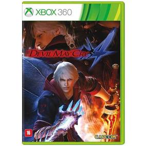 Jogo - Devil May Cry 4 - Xbox 360 - Midia Física