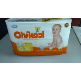 Bulto De 8 Paquetes De Panales Chikool Impotados Talla G
