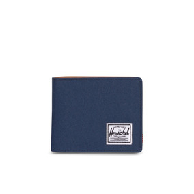 Billetera Herschel Supply Co. Hank Rfid Navy Tan