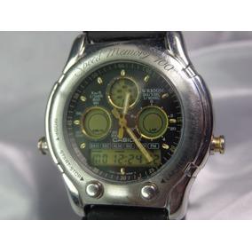 5ec343b89c1 Relógio Casio Oceanus Speed Memory 503 1985 Relogiodovovô.