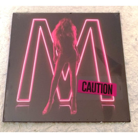 Lp Mariah Carey Caution Vinil Rosa Deluxe Pronta Entrega