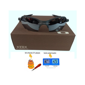 Oculos De Sol Oakley Prata Espelhado Juliet - Óculos no Mercado ... 5a4fa71a16