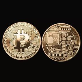 Moeda Fisica Bitcoin Detalhes Em Alto Relevo - Colecionador