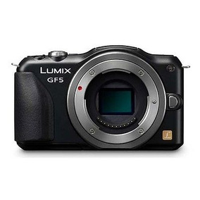 Cámara Digital Panasonic Lumix Dmc-gf5 - Negro (sólo Cuerpo)