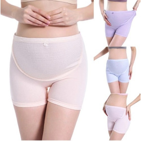 Set De 3 Panty Boxer Maternidad Pantaletas Panti Embarazo