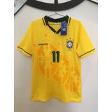 cd26f22292 Camisa Brasil - Copa 1994 -  11 Romário - Pronta Entrega