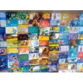 100 Cartões Telefônicos Diferentes - Brasil Por 22,00 - Ii