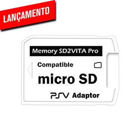 Sd2vita Pro 5.0 Adaptador Cartão Micro Sd Psvita 1000 2000