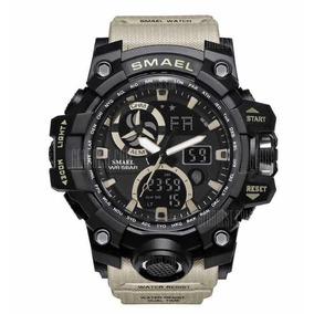 Relógio Masculino Verde Smael G-shock Militar Prova D