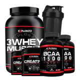 43b1f4171 Super Whey 5w Muscle Nutrition - Whey Protein para Massa Muscular no ...