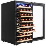 Akdy 38 Botellas Zona Único Compresor Del Refrigerador De Vi