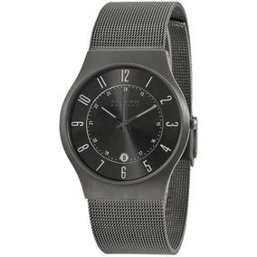 196ab394edf Relógio Skagen Grenen Titanium T233xltmn - Relógios De Pulso no ...