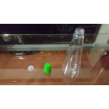 Envase Plastico Cilíndrico/cónico Y Tapa Rosca 250ml