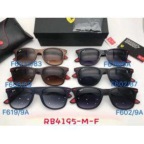 1bd0ce41378 Oculos De Sol Masculino Rb4195m Liteforce Wayfarer Ferrari