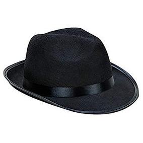 Sombrero Fedora Negro Gangster en Mercado Libre México bc2f6157ad6