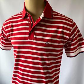 Camisa Polo Dudalina Listada Algodão Pima