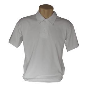 59a62e66f0 Camisa Polo Lisa Malha Algodão - Kit Com 3 Camisas Em Cores