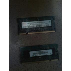 Memoria De Lapto 1gb Y 512gb Ddr2
