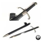 Espada Medieval Funcional Afiada Corte Cavaleiro Templário