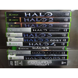 Halo Colección 1 2 3 4 5 Wars Reach Odst Xbox 360 One Dvd